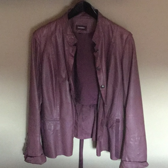 🔥 Leather Jacket, size 2XL